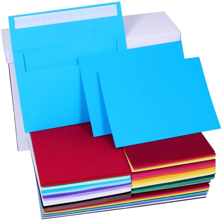 144 sets 18 colors a7 invitations envelopes 5x7 envelopes